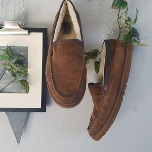 Ugg Men's McCaulen Suede Loafer Slip On Slipper 11